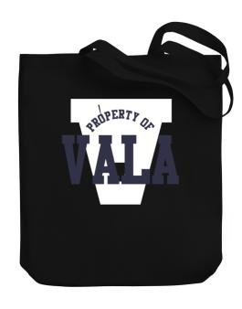 Property Of Vala Canvas Tote Bag