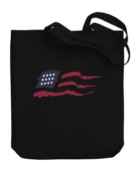 Flag Ankti Canvas Tote Bag