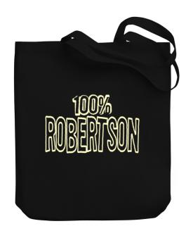 100% Robertson Canvas Tote Bag