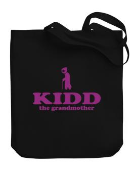 Kidd The Grandmother Canvas Tote Bag