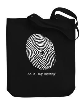 Ao Is My Identity Canvas Tote Bag