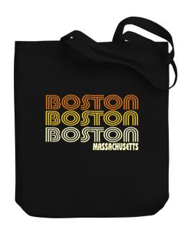 Boston State Canvas Tote Bag