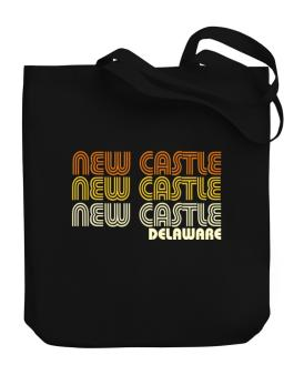 New Castle State Canvas Tote Bag