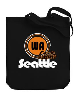 Seattle - State Canvas Tote Bag