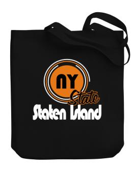 Staten Island - State Canvas Tote Bag