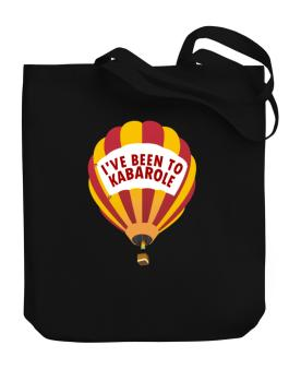 Ive Been To Kabarole Canvas Tote Bag