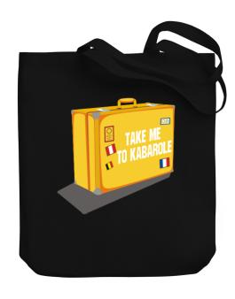 Take Me To Kabarole Canvas Tote Bag