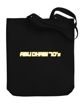 Capital 70 Retro Abu Dhabi Canvas Tote Bag
