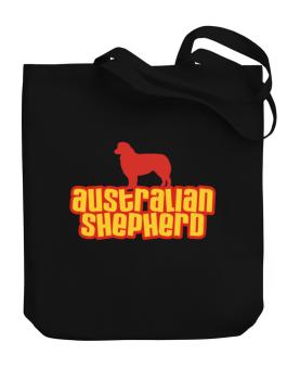 Breed Color Australian Shepherd Canvas Tote Bag