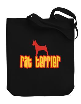 Breed Color Rat Terrier Canvas Tote Bag