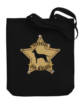 Official Peruvian Hairless Dog Walker Canvas Tote Bag