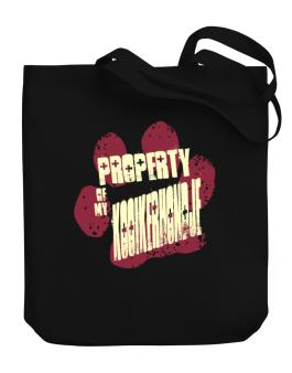 Property Of My Kooikerhondje Canvas Tote Bag