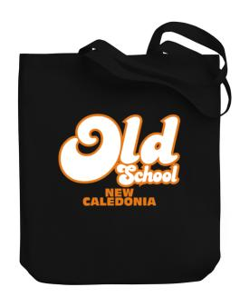 Old School New Caledonia Canvas Tote Bag