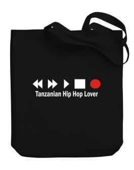 Tanzanian Hip Hop Lover Canvas Tote Bag