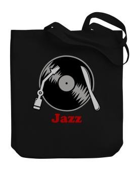 Jazz - Lp Canvas Tote Bag