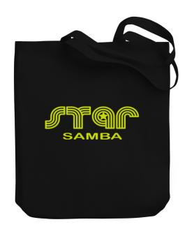 Star Samba Canvas Tote Bag