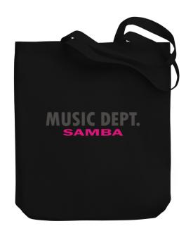 Music Dept Samba Canvas Tote Bag