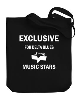 Exclusive For Delta Blues Stars Canvas Tote Bag