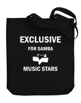 Exclusive For Samba Stars Canvas Tote Bag