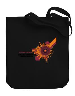 Lets Dance To The Sound Of Progressive Bluegrass Canvas Tote Bag