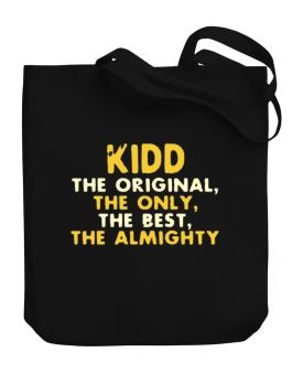 Kidd The Original Canvas Tote Bag