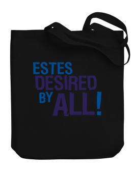 Estes Desired By All! Canvas Tote Bag