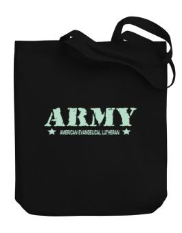 Army American Evangelical Lutheran Canvas Tote Bag