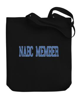 Nabc Member - Simple Athletic Canvas Tote Bag