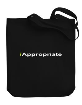Iappropriate Canvas Tote Bag