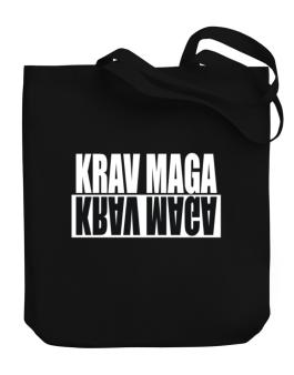 Krav Maga Negative Canvas Tote Bag