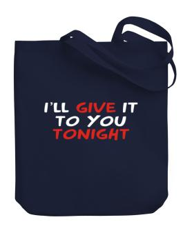 Bolso de I´ll Give It To You Tonight