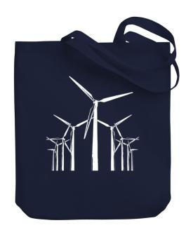 Wind Energy Canvas Tote Bag