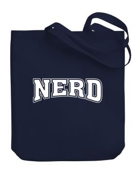 Nerd University Canvas Tote Bag