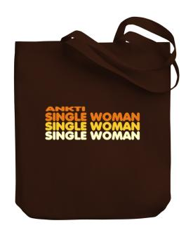 Ankti Single Woman Canvas Tote Bag