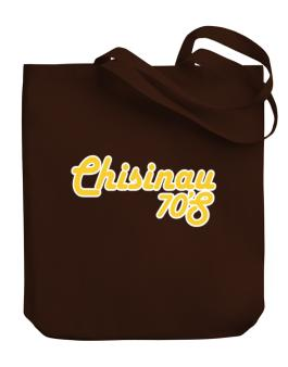 Chisinau 70s Retro Canvas Tote Bag