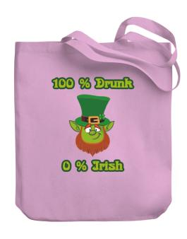 0% irish Canvas Tote Bag