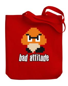 Bad Attitude Canvas Tote Bag