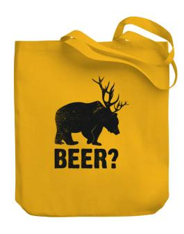 Vintage beer Canvas Tote Bag