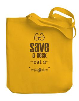 Save a geek Canvas Tote Bag