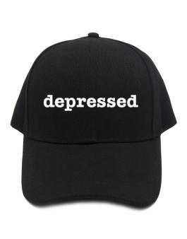 depressed Baseball Cap