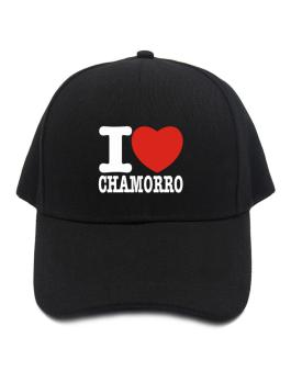 I Love Chamorro Baseball Cap
