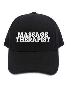 Gorra de Massage Therapist