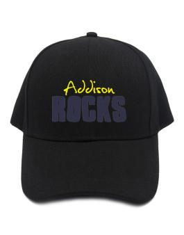 Addison Rocks Baseball Cap