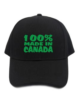 Gorra de 100% Made In Canada