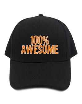 100% Awesome Baseball Cap