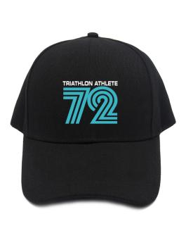 Triathlon Athlete 72 Retro Baseball Cap