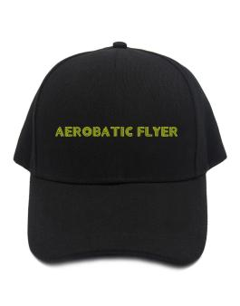 Line Word Aerobatic Flyer Baseball Cap