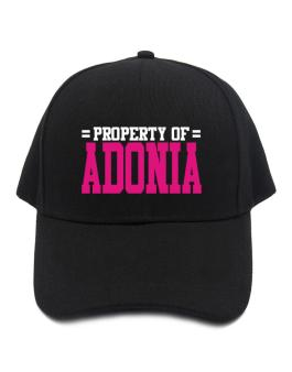 Property Of Adonia Baseball Cap