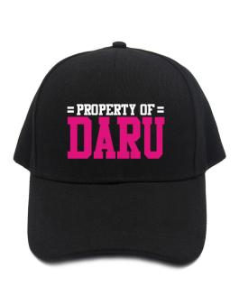 Property Of Daru Baseball Cap