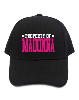 Property Of Madonna Baseball Cap